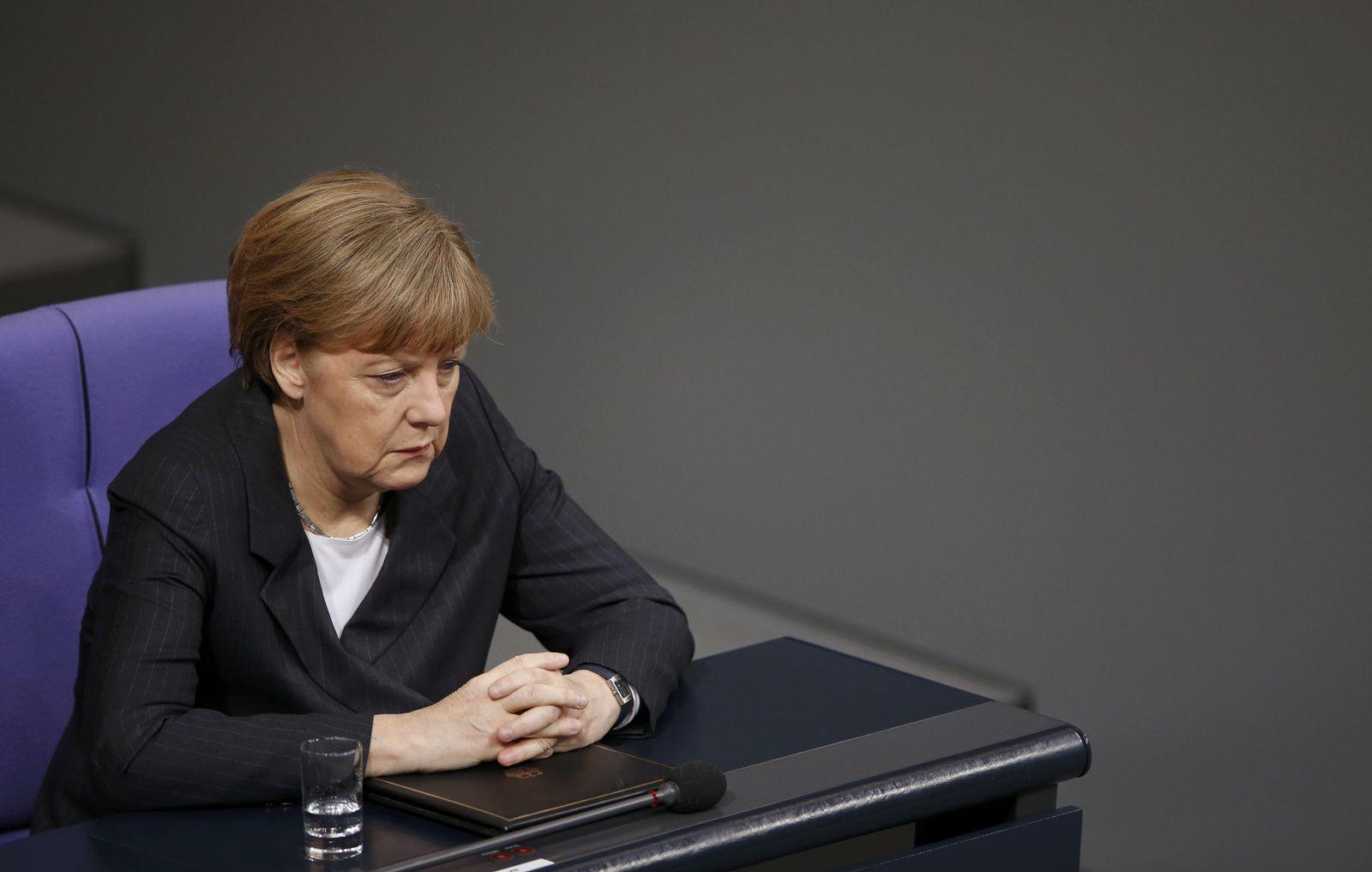 Angela Merkel/ Bundestag
