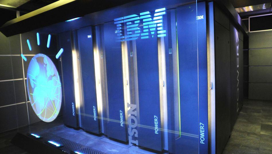 Supercomputer Watson: Soll IBM in die Gewinnzone führen