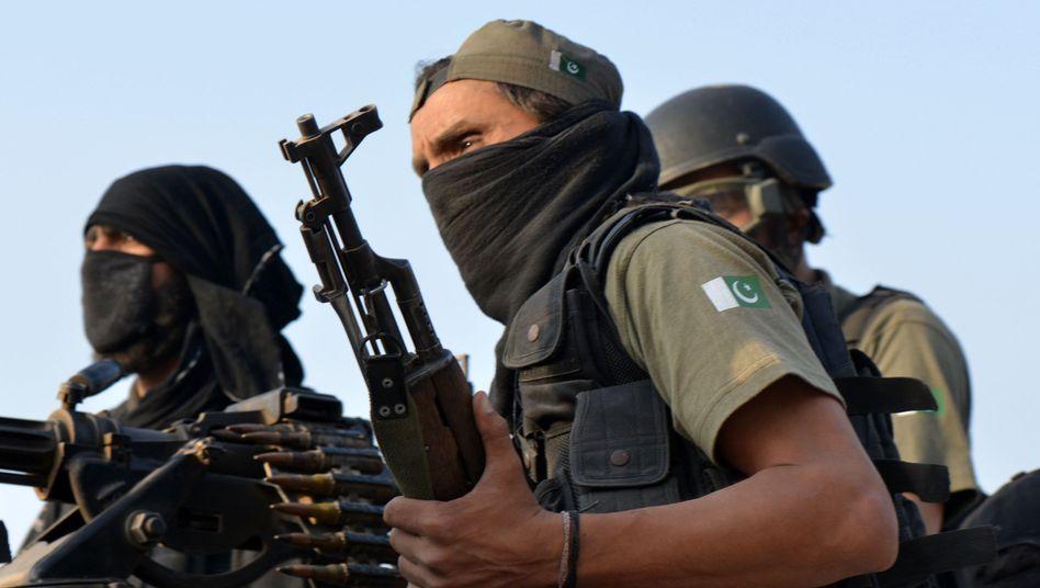 Pakistanische Soldaten: Angreifer zurückgeschlagen