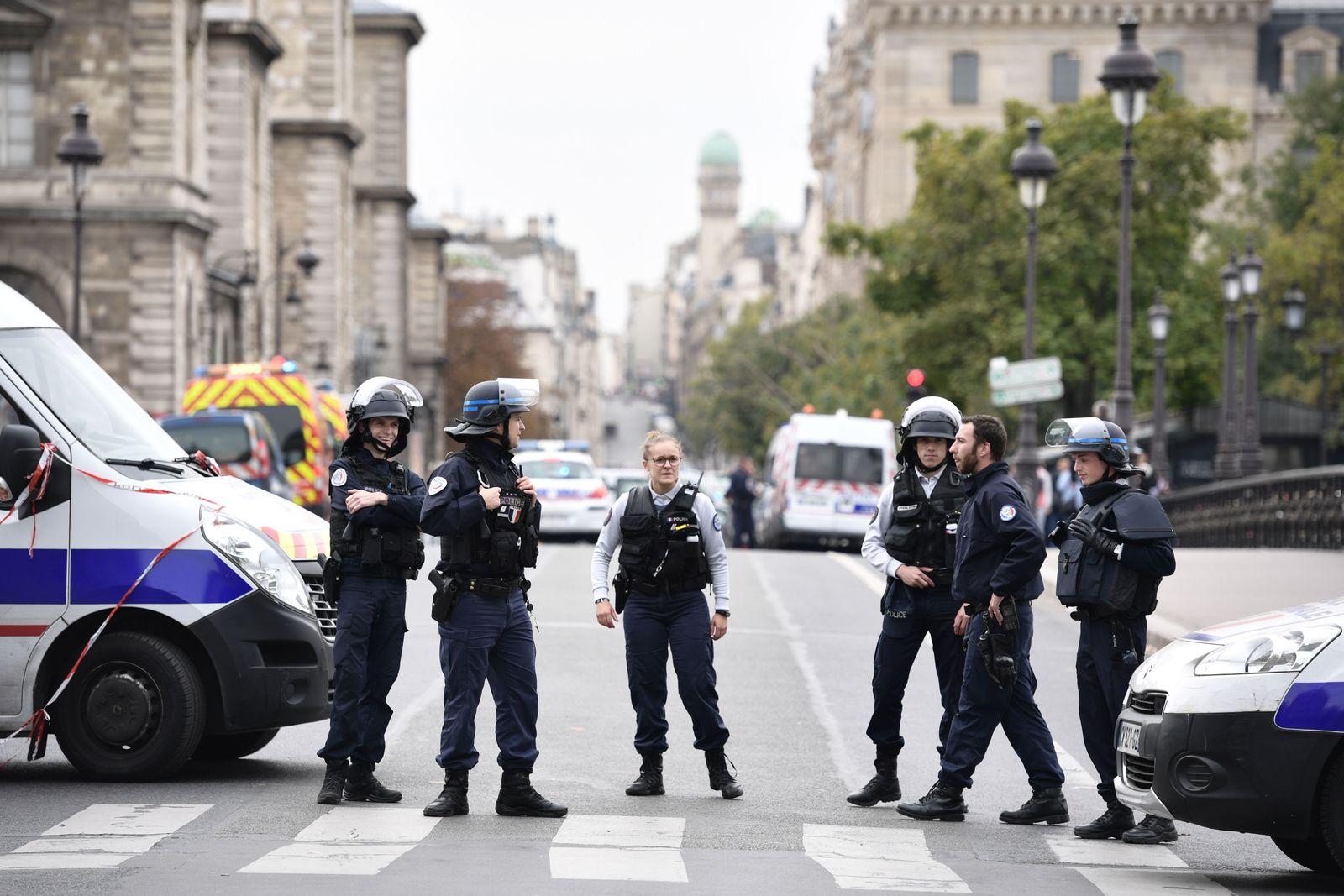 Frankreich Polizei Angriff