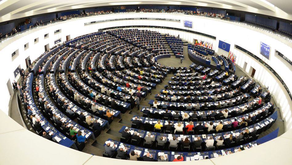 The European Parliament in Strasbourg: Populist parties are likely to make gains in elections this spring.