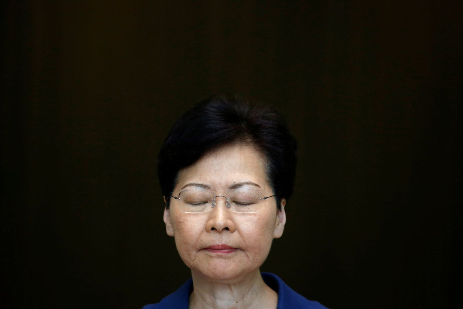 HONGKONG-PROTESTS Carrie Lam