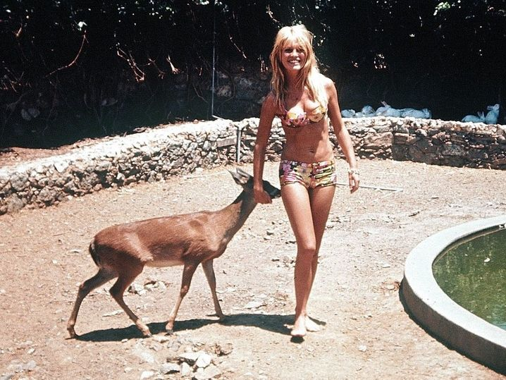 Brigitte Bardot on vacation in Cyprus in 1965: The world liked to come to Famagusta.