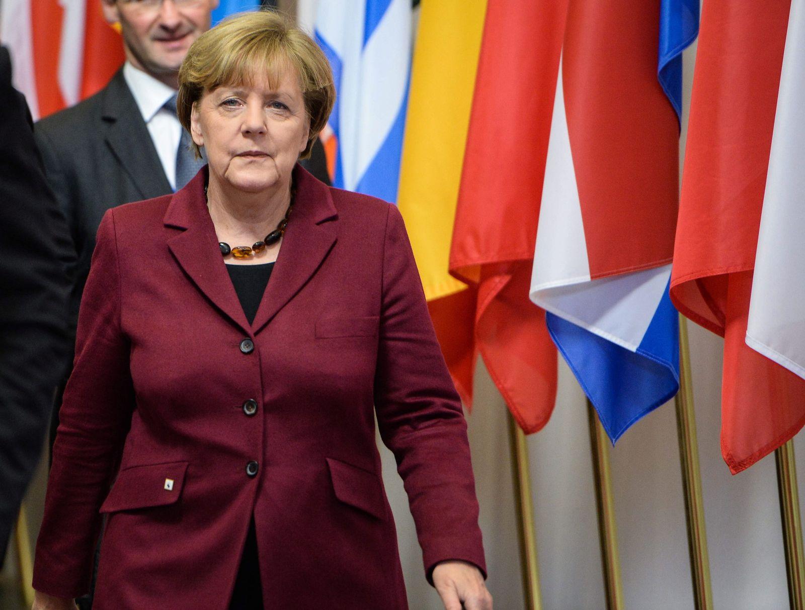 Merkel / EU-Türkei-Gipfel