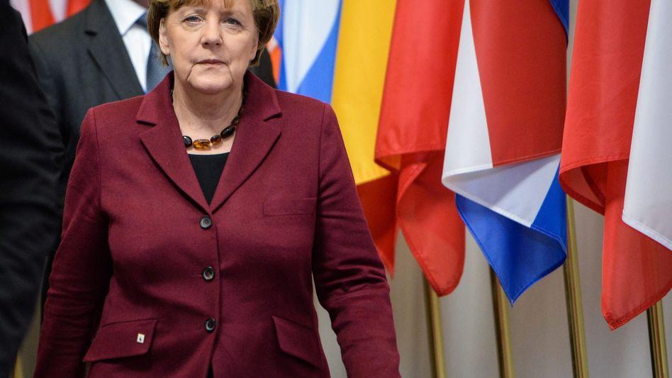 Merkel beim EU-Türkei-Gipfel: Kaum Unterstützung, wenn es um die Verteilung von Flüchtlingen geht