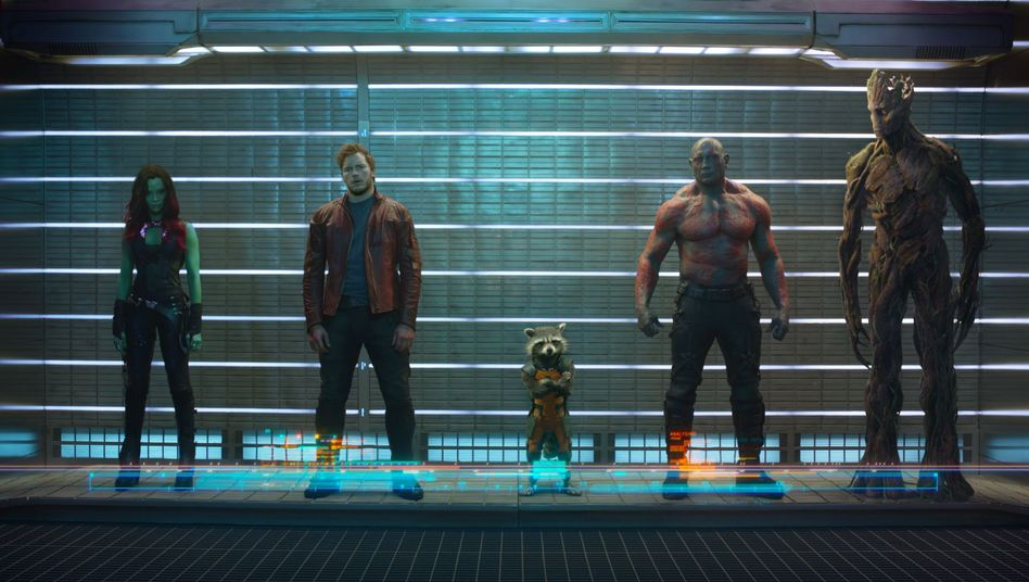 "Blockbuster ""Guardians of the Galaxy"": Fünfer-Bande mit Soul"