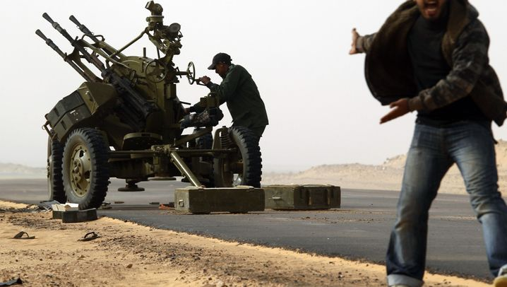 Kämpfe in Libyen: Rebellen gegen Regime