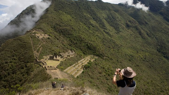 Ruinenstadt Choquequirao: Machu Picchus Schwester