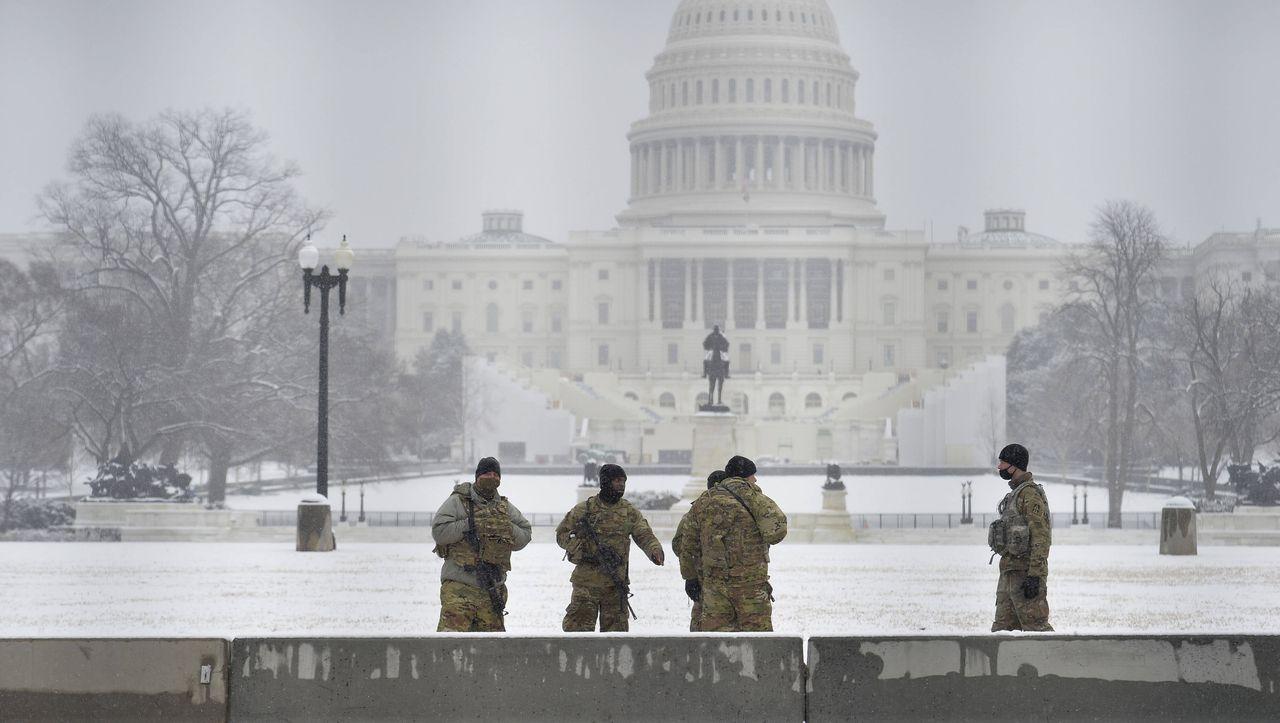 US-Hauptstadt: Einsatz der Nationalgarde am US-Kapitol kostet Hunderte Millionen - DER SPIEGEL