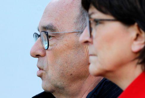 SPD-Chefs Walter-Borjans, Esken