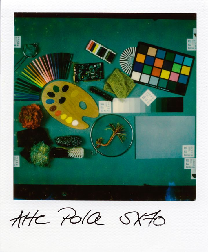 Testfoto der Polaroid SX 70