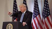 Trump droht Demonstranten
