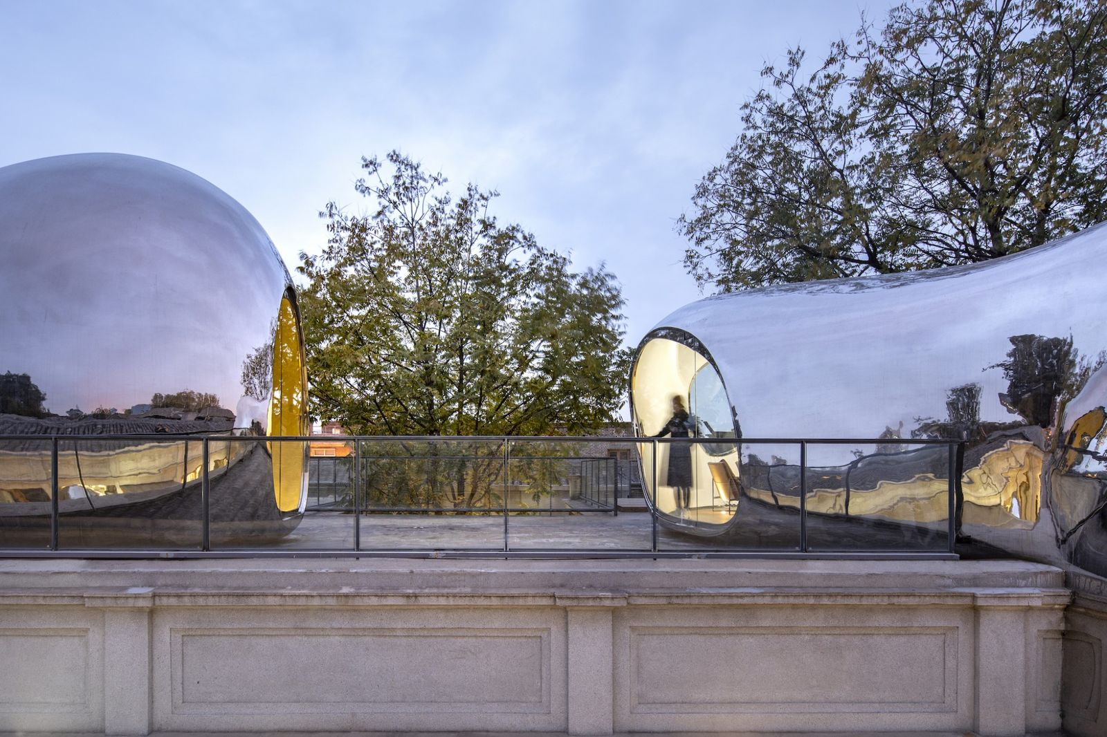 Hutong Bubble 218 by MAD Architects
