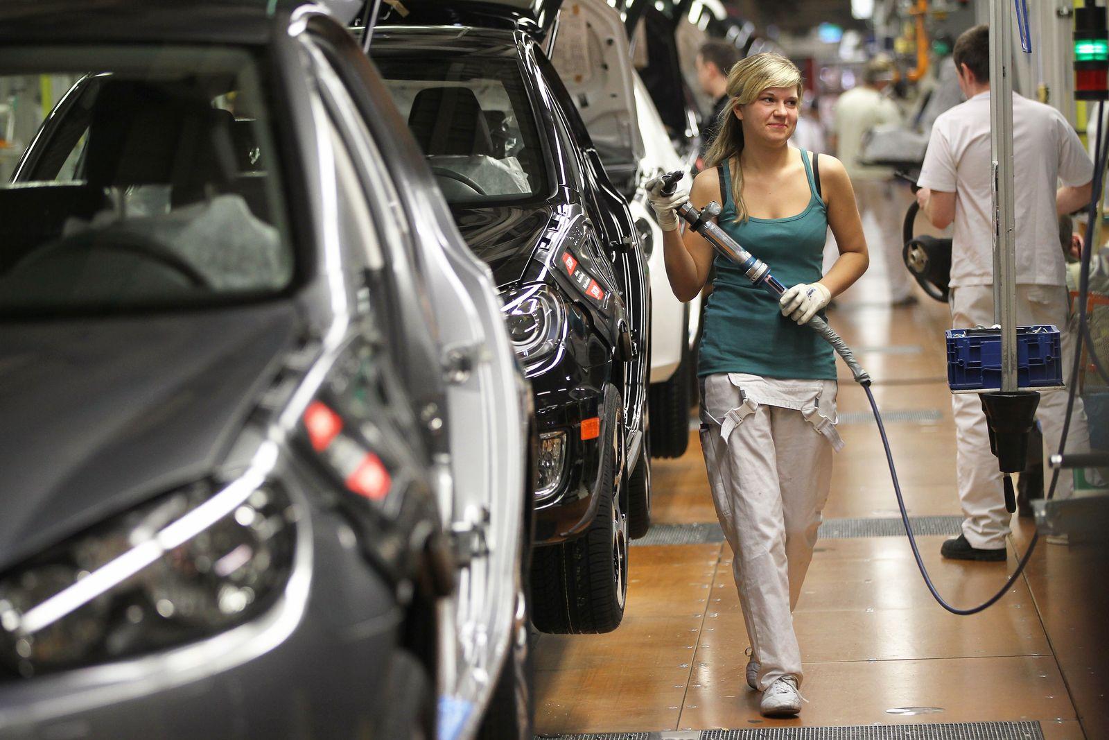 Deutschland / Konjunktur / Export / Auto-Produktion
