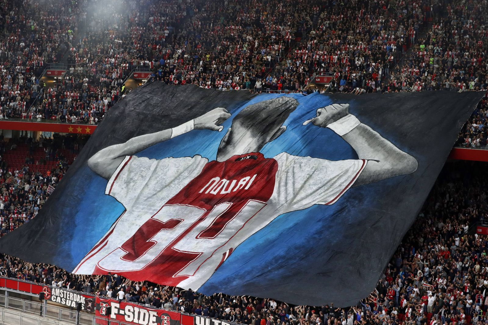 AMSTERDAM Stadion de Arena 02 08 2017 Voorronde Champions League seizoen 2017 2018 Ajax N