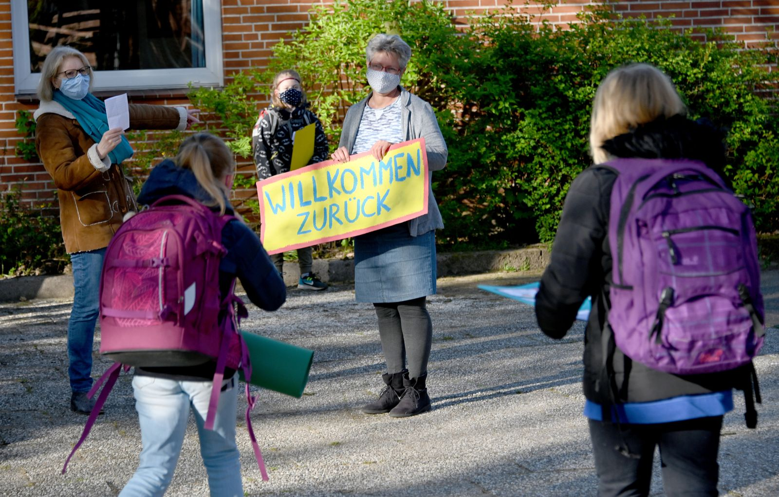 Coronavirus - Schulöffnung in Schleswig-Holstein