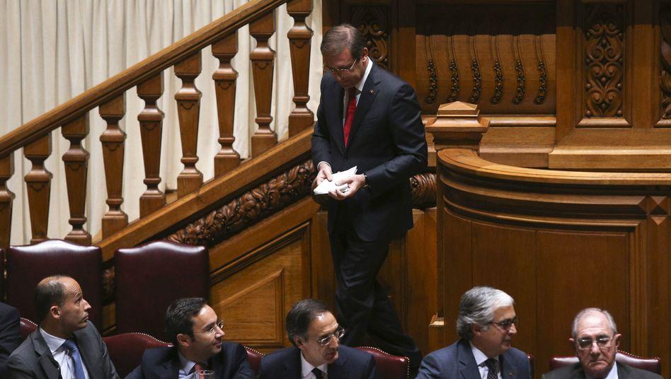 Abgang des Ministerpräsident Pedro Passos Coelho: Nur noch geschäftsführend im Amt