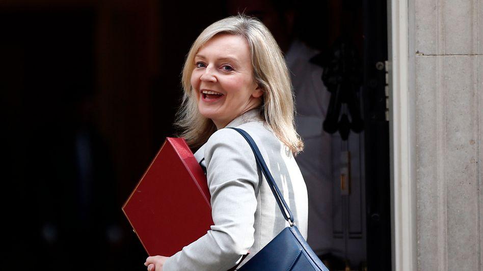 Die neue Außenministerin Liz Truss