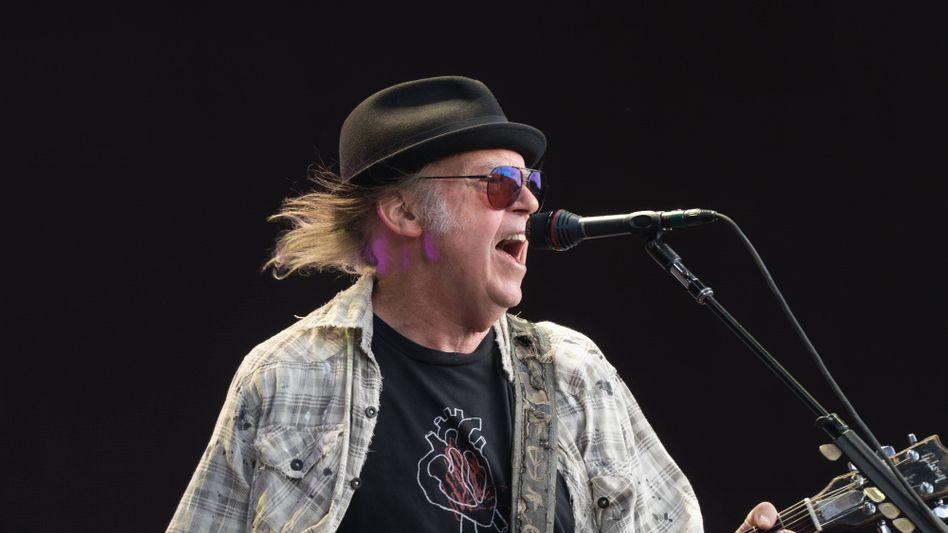 """Neil Young über die Verwendung seines Songs bei Trumps Wahlkampfauftritten: """"Ich habe ihn nicht dafür geschrieben"""""""