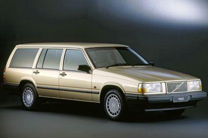 Alter Volvo der 700er-Serie: Beliebt bei Studienräten - und neuerdings auch Leuten, die was mit Medien machen