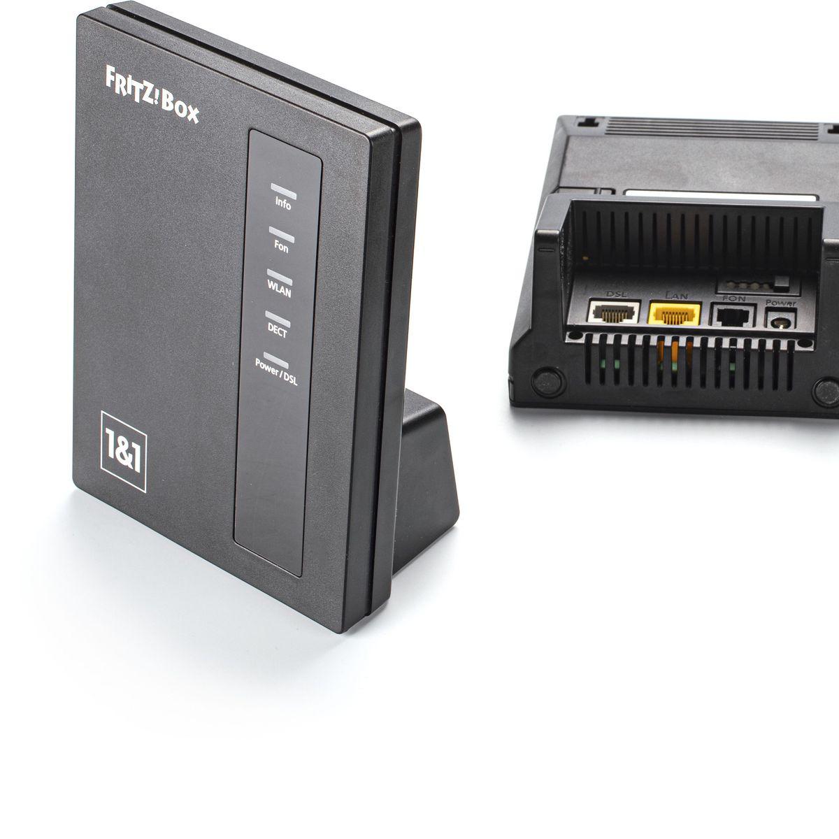 Fritzbox 10 als DSL-Modem, DECT-Basis und Ersatzrouter