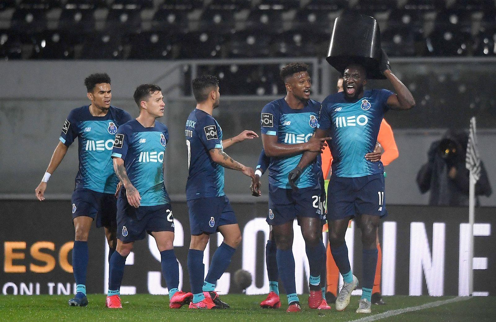 Vitoria de Guimaraes vs FC Porto, Portugal - 16 Feb 2020
