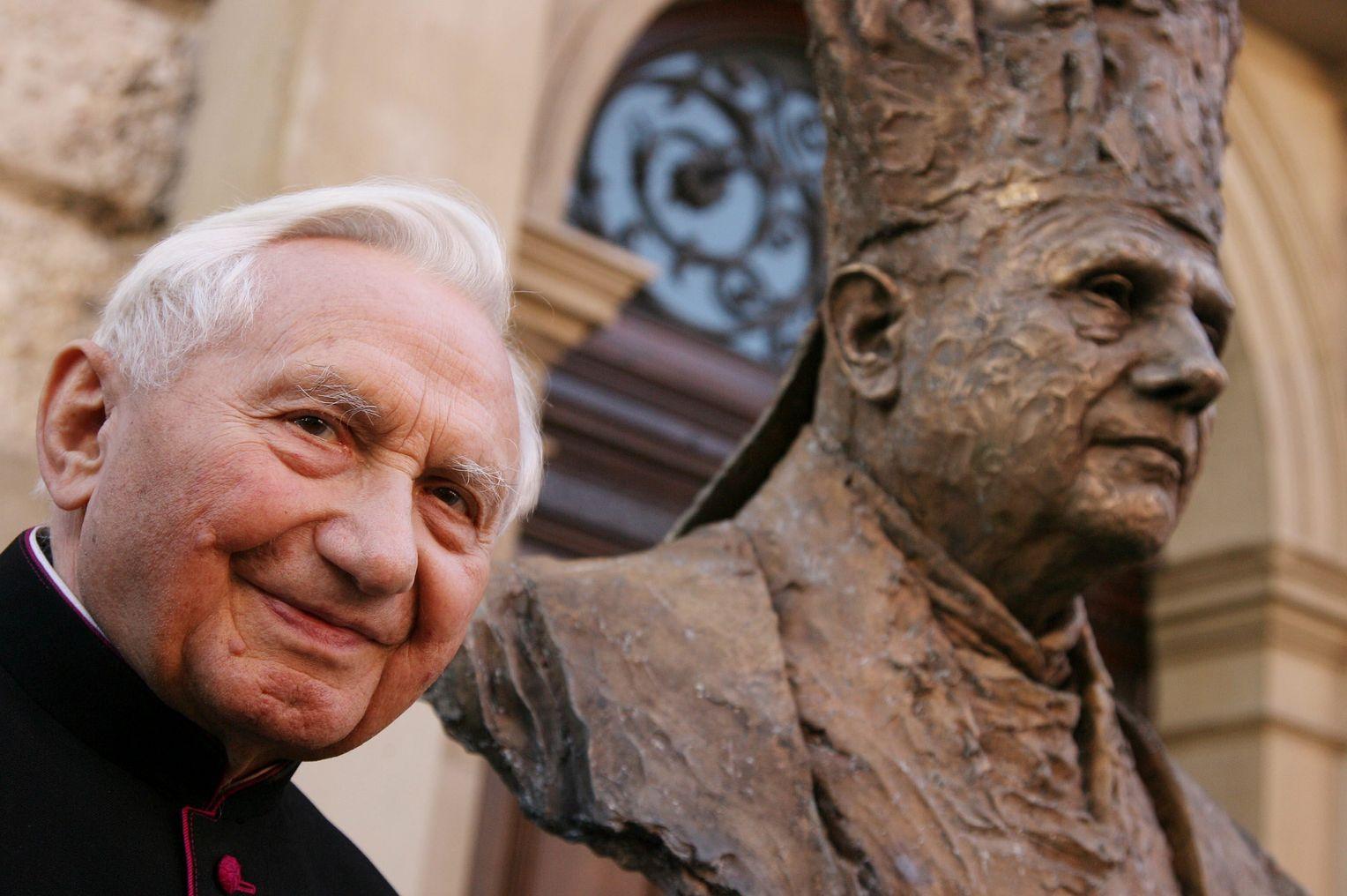 Georg Ratzinger Grab