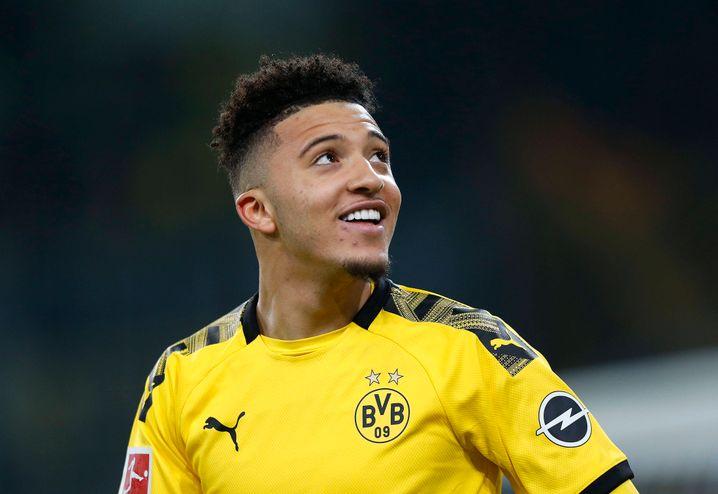 Dortmunds Jadon Sancho startet mit dem Derby gegen den FC Schalke