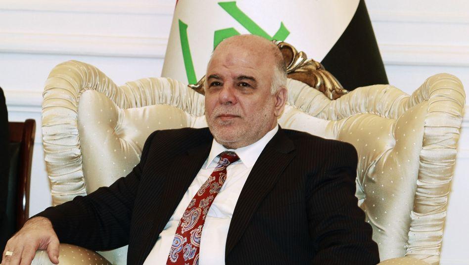 Haider al-Abadi (Archiv): Bedenkzeit für Besetzung der Innen- und Verteidigungsressorts