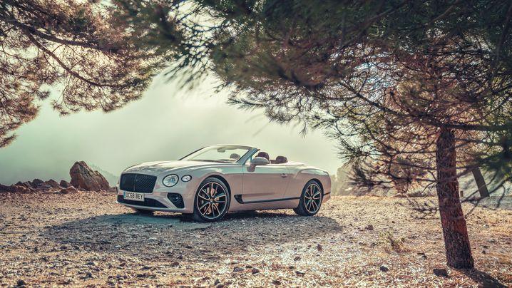 Autogramm Bentley Continental GTC: Opulenz im Großformat