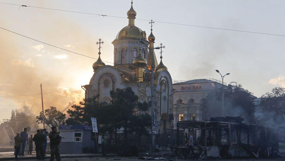 "Ukraine-Konflikt: Putin nährtdenTraumvon ""Neurussland"""