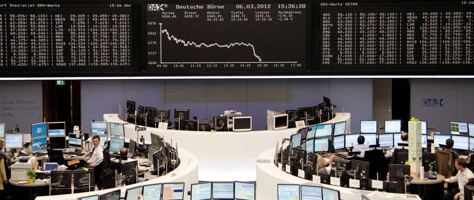Börse in Frankfurt am Main: Die größten Kapitalvernichter 2011