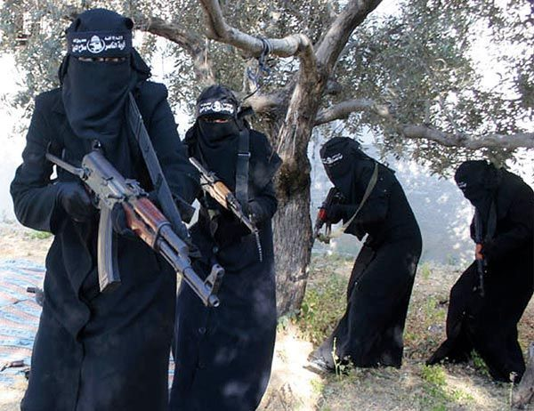 IS Frauen Al-Chansaa-Brigade