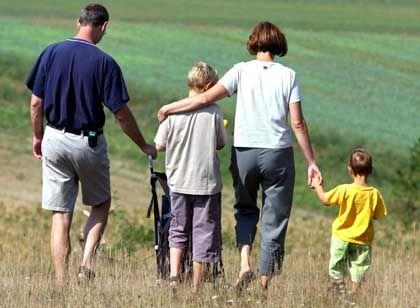 Kleinfamilie: Doppeltes Kindergeld bis zum siebten Lebensjahr?