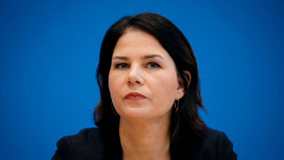 Kanzlerkandidatin Baerbock: Ein allzu linkes Programm kann die bürgerliche Mitte abschrecken
