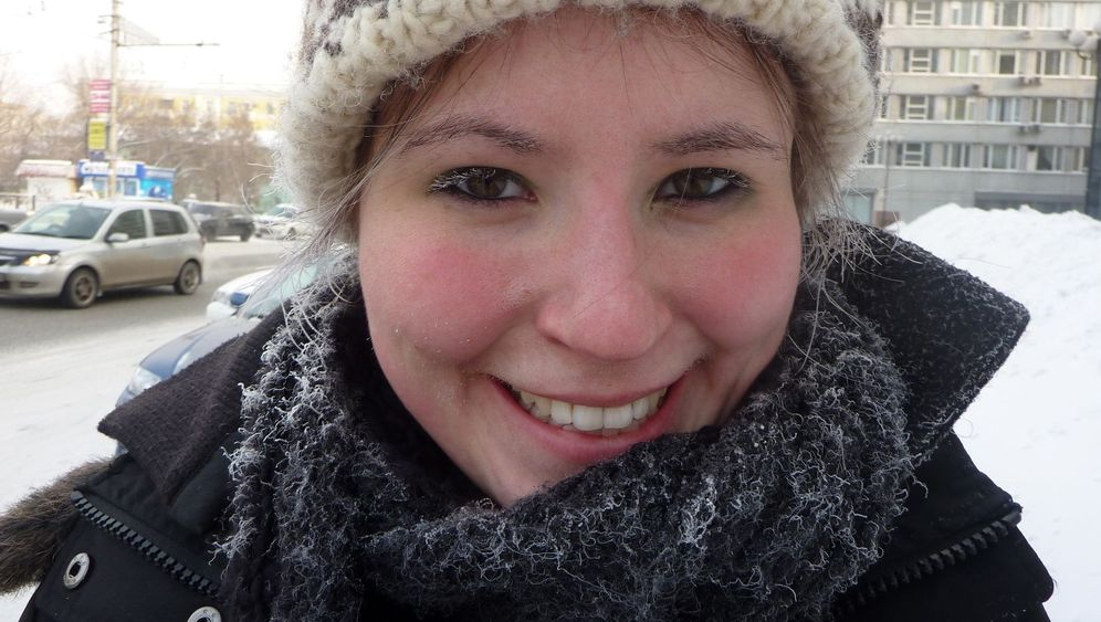 Sibirien: Gefrorene Wimpern und Männer im Eis