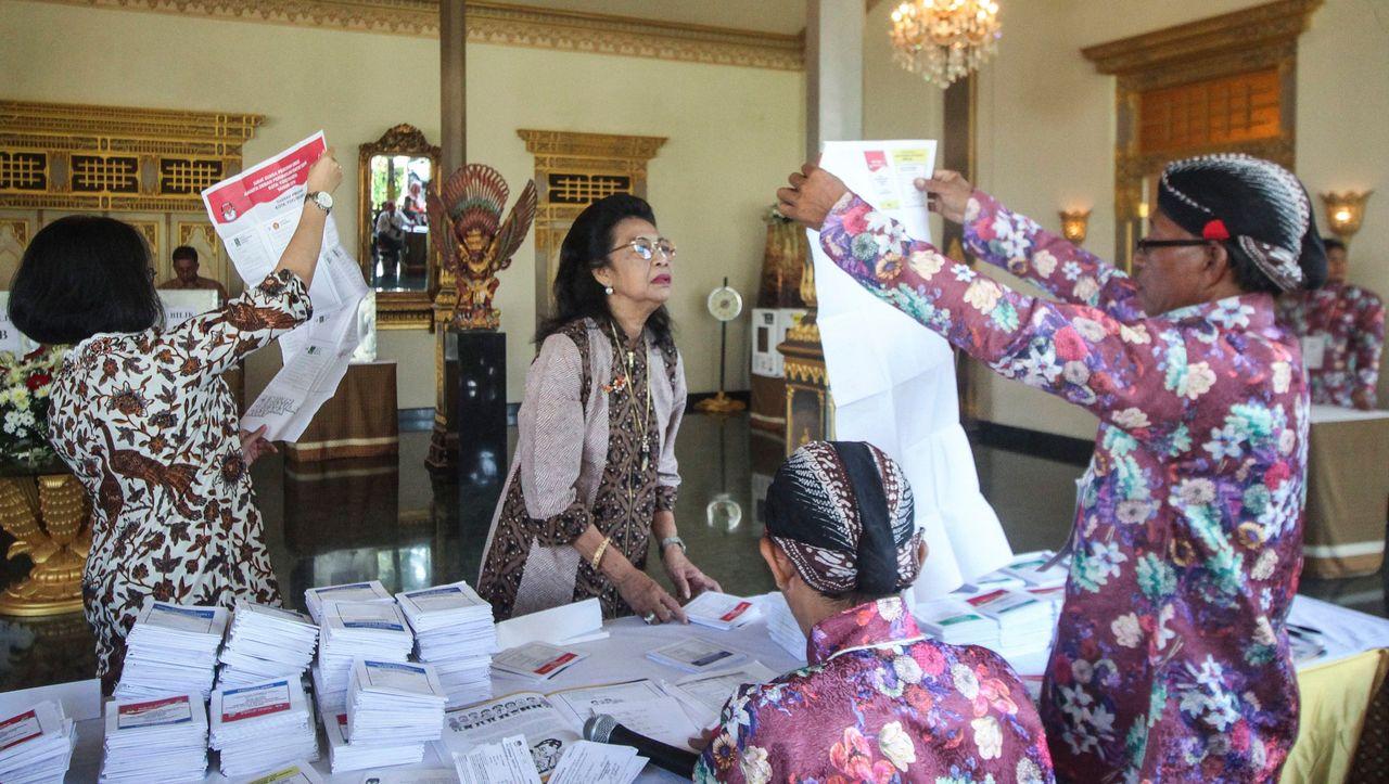 Wahlhelfer Indonesien