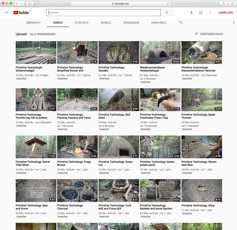 EINMALIGE VERWENDUNG Primitive Technology Screenshot
