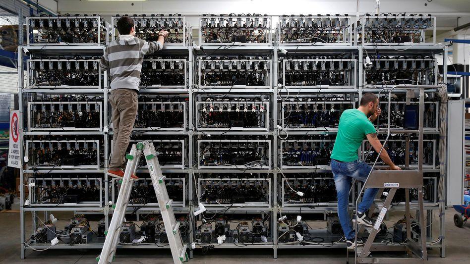 Bitcoin-Rechner (Archivbild)