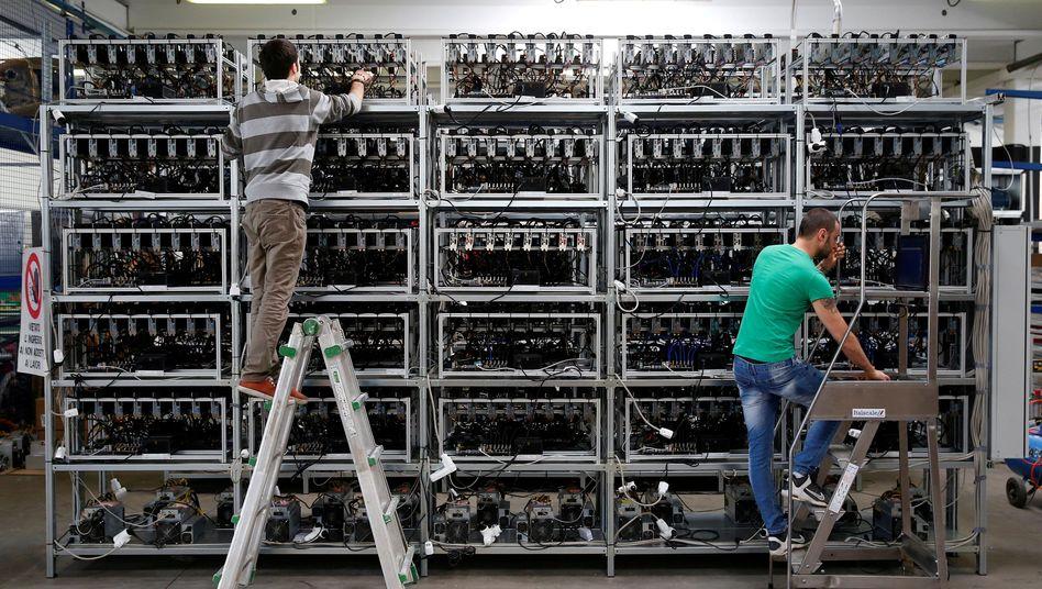 Bitcoin-Farm in Florenz: Enormer Energieverbrauch