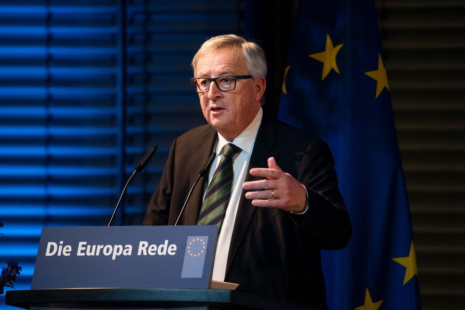 Europa-Rede von Jean-Claude Juncker