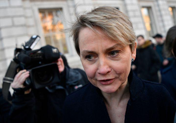 Labour-Politikerin Yvette Cooper