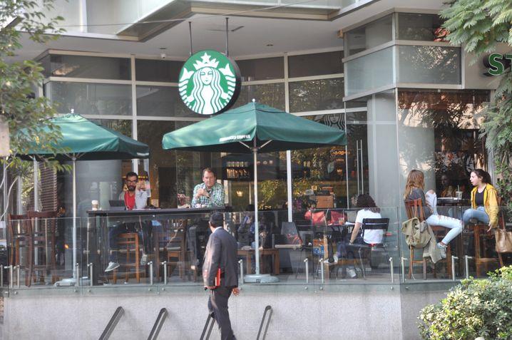 Starbucks-Filiale in Mexiko-Stadt