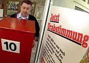 Streik bei den Tageszeitungen: Vielerorts heftige Diskussionen