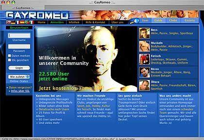 """Netz-Community GayRomeo: Die """"blauen Seiten"""" für schwule Männer"""