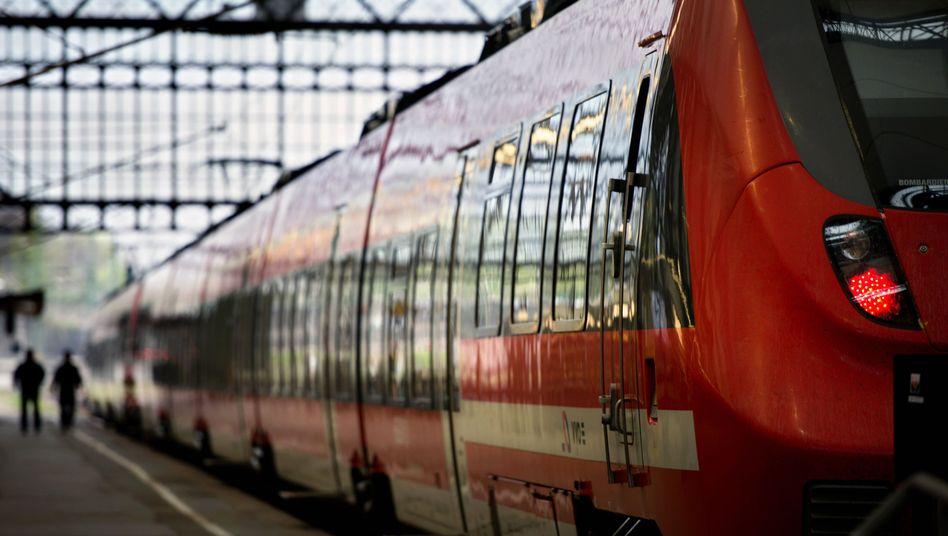 Hauptbahnhof in Dresden (Archivbild)