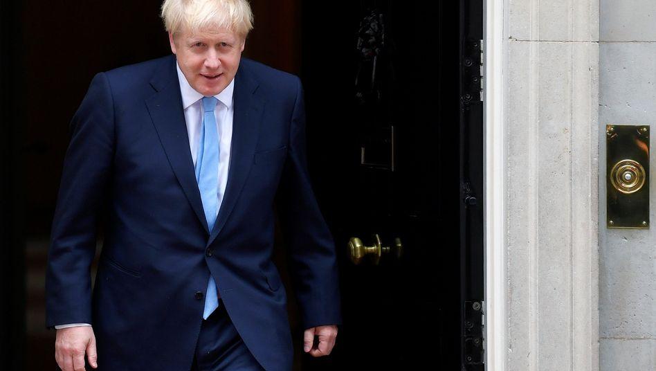 """Britischer Premier Boris Johnson: Die EU """"ohne Wenn und Aber"""" verlassen"""