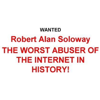 Seit Jahren eine Hassfigur im Internet: Eingangsseite einer der zahlreichen Soloway-Hass-Seiten (siehe Linkverzeichnis)