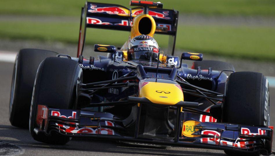 Formel-1-Fahrer Vettel: Rang drei im Qualifying