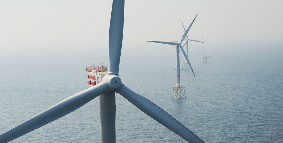 Offshore-Windpark in der Nordsee (Symbolbild): Studie rechnet mit Mehrkosten